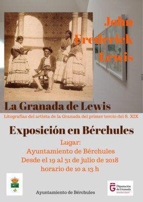 Cartel Exposiciones Intinerantes La Granada de Lewis