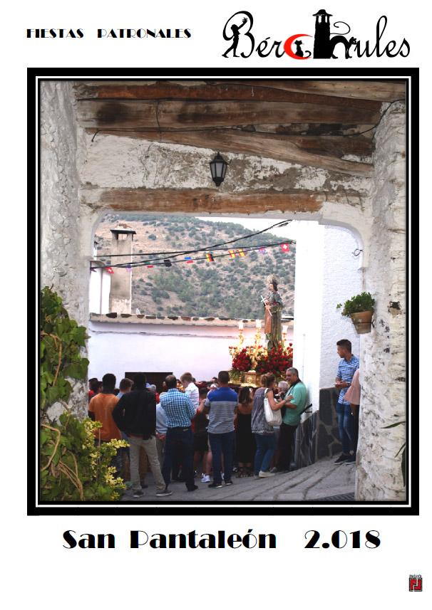 Fiestas San Pantaelon Bérchules 2018