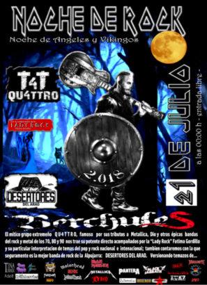 Noche de Rock Bérchules 2018