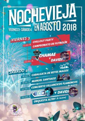Noche Vieja en Agosto 2018