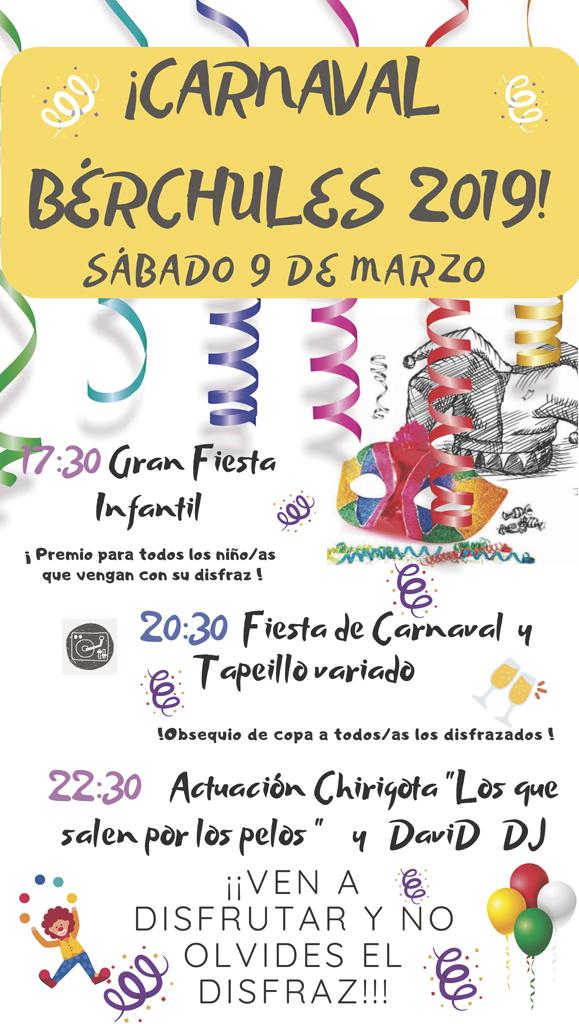 Carnaval Bérchules 2019