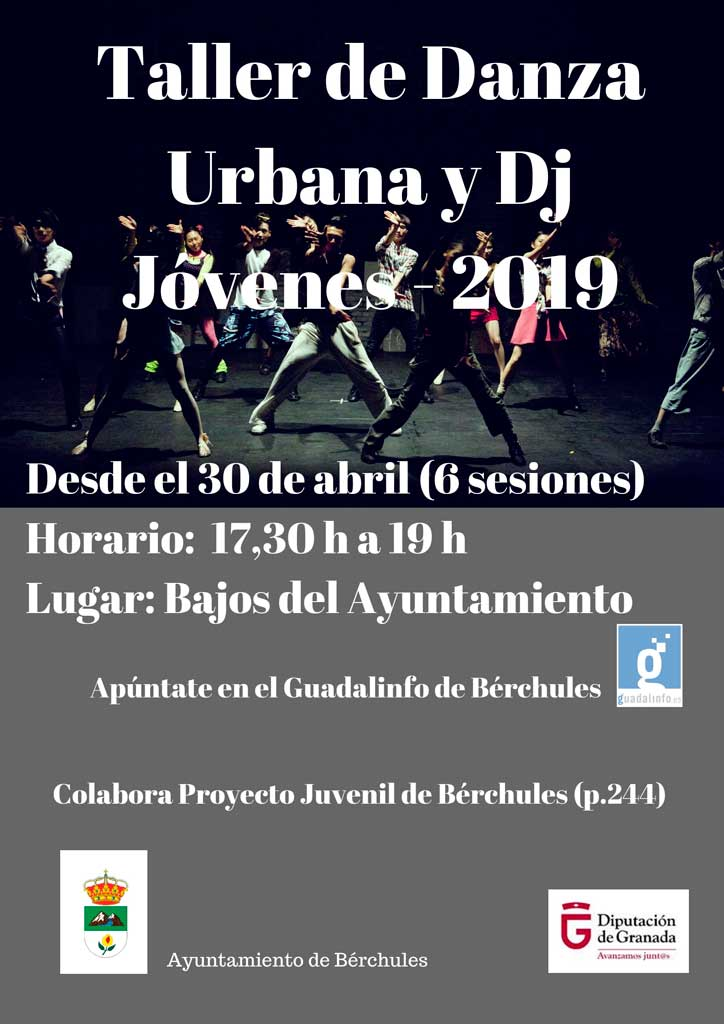 Taller danza urbana y dj