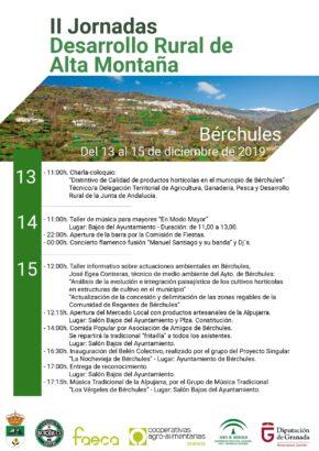 II Jornadas de Desarrollo Rural de Alta Montaña